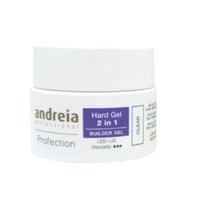ANDREIA PROFECTION HARD GEL 2 EM 1 - CLEAR