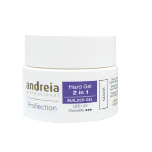 ANDREIA PROFECTION HARD GEL 2 EM 1 - SOFT WHITE