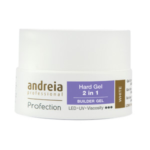 ANDREIA PROFECTION HARD GEL 2 EM 1 - WHITE