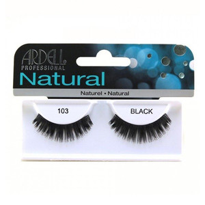 ARDELL NATURAL LASHES 103 BLACK