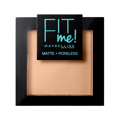MAYBELLINE POWDER FIT ME - 120 CLASSIC IVORY