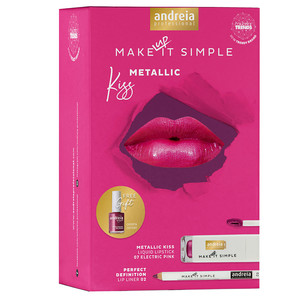 ANDREIA COFFRET METALLIC KISS
