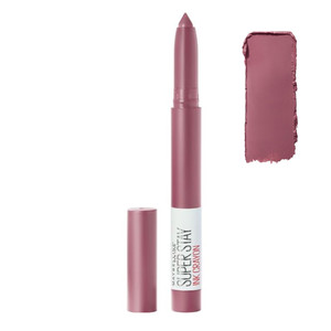 MAYBELLINE BATOM SUPERSTAY MATTE INK CRAYON - 25 STAY EXCEPTIONAL