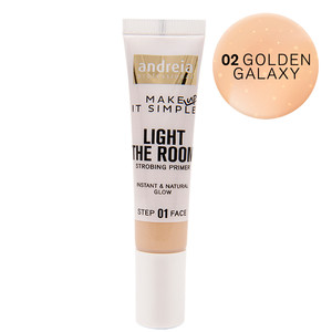 ANDREIA LIGHT THE ROOM-STROBING PRIMER - 01 GOLDEN GALAXY