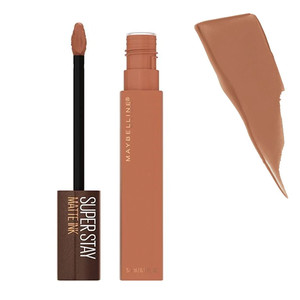 MAYBELLINE BATOM SUPERSTAY MATTE INK - 255 THE COFFEE CHAI GENIUS