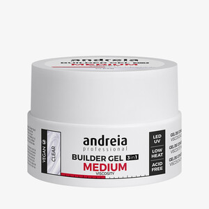 ANDREIA BUILDER GEL 3IN1 MEDIUM VISCOSITY - CLEAR