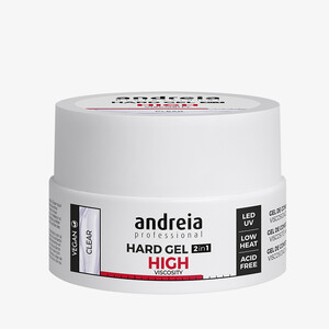 ANDREIA HARD GEL 2IN1 HIGHT VISCOSITY - CLEAR