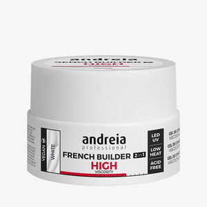 ANDREIA FRENCH BUILDER 2IN1 HIGHT VISCOSITY - WHITE