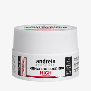 ANDREIA FRENCH BUILDER 2IN1 HIGHT VISCOSITY - COVER PINK