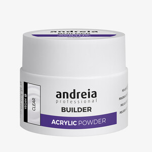 ANDREIA BUILDER ACRYLIC POWDER - CLEAR