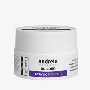 ANDREIA BUILDER ACRYLIC POWDER - SOFT WHITE