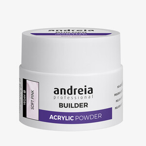 ANDREIA BUILDER ACRYLIC POWDER - SOFT PINK