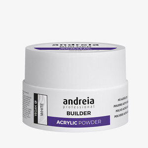 ANDREIA BUILDER ACRYLIC POWDER - WHITE