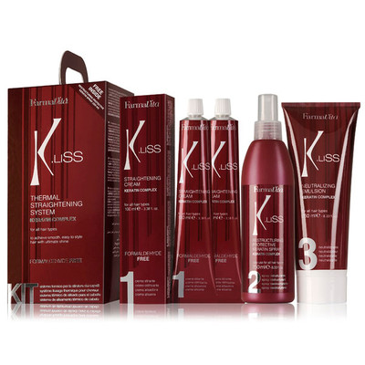 FARMAVITA THERMAL STRAIGHTENING SYSTEM K.LISS (KIT)