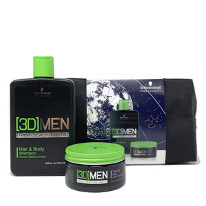 SCHWARZKOPF PROFESSIONAL PACK 3D MEN