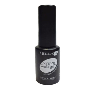 KELLY K SPEED GEL TOP COAT MATTE (NOVO)
