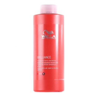 WELLA SHAMPOO BRILLIANCE THICK