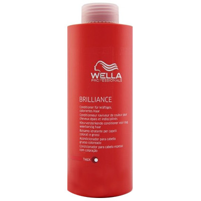 WELLA CONDICIONADOR BRILLIANCE THICK