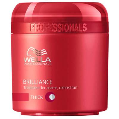 WELLA MÁSCARA BRILLIANCE THICK