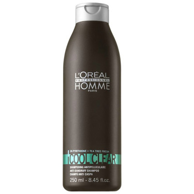 LOREAL HOMME SHAMPOO COOL CLEAR (ANTI-CASPA)