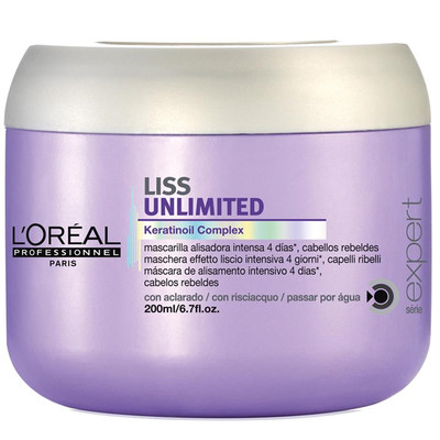 LOREAL SE MÁSCARA LISS UNLIMITED
