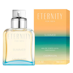 CALVIN KLEIN ETERNITY SUMMER FOR MEN 2019 EAU DE TOILETTE VAPORIZADOR