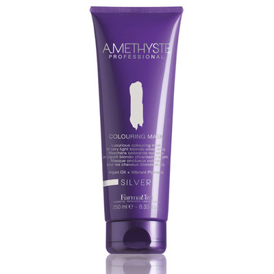 AMETHYSTE COLOURING MASK - SILVER