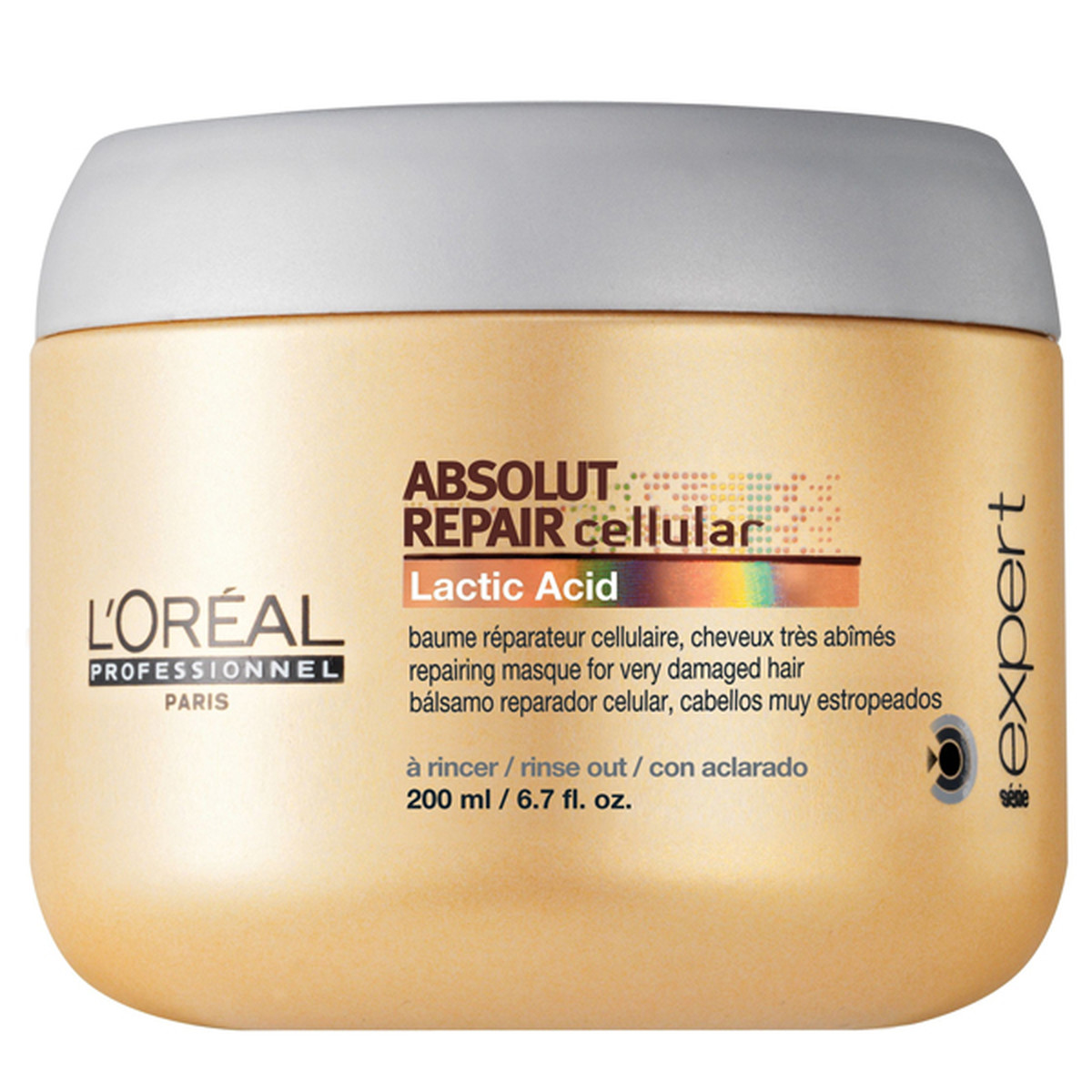 4acca0787 L'oréal Professionnel Serie Máscara Absolut Repair - 200Ml »...