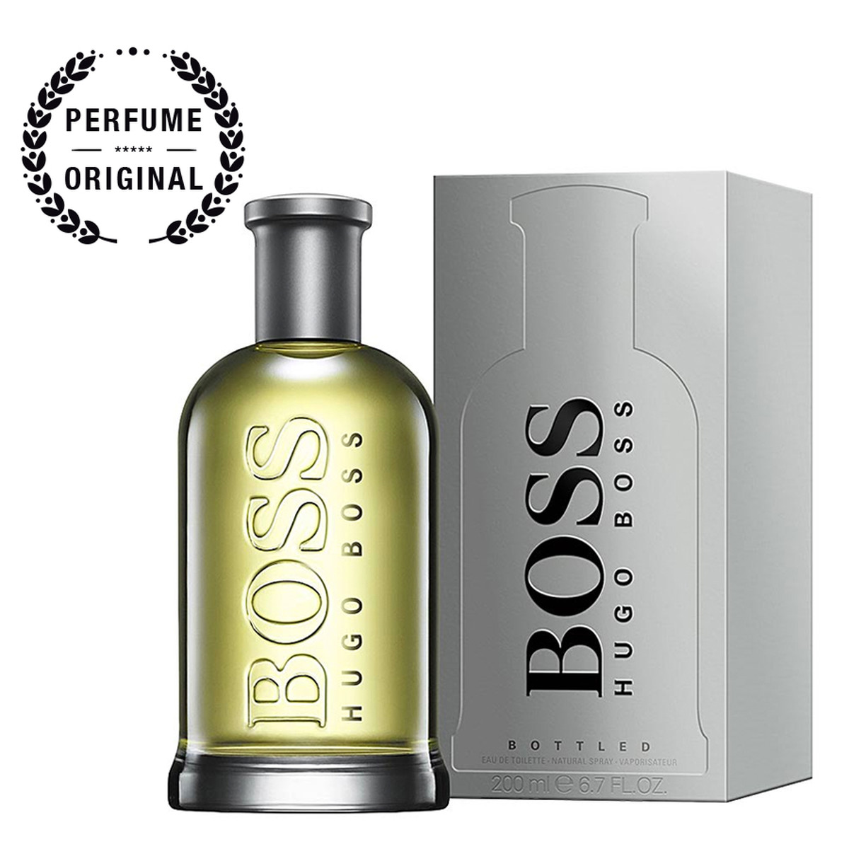 2ded5a3a15 Hugo Boss Bottled Eau De Toilette Vaporizador - 200Ml » Perfumes...