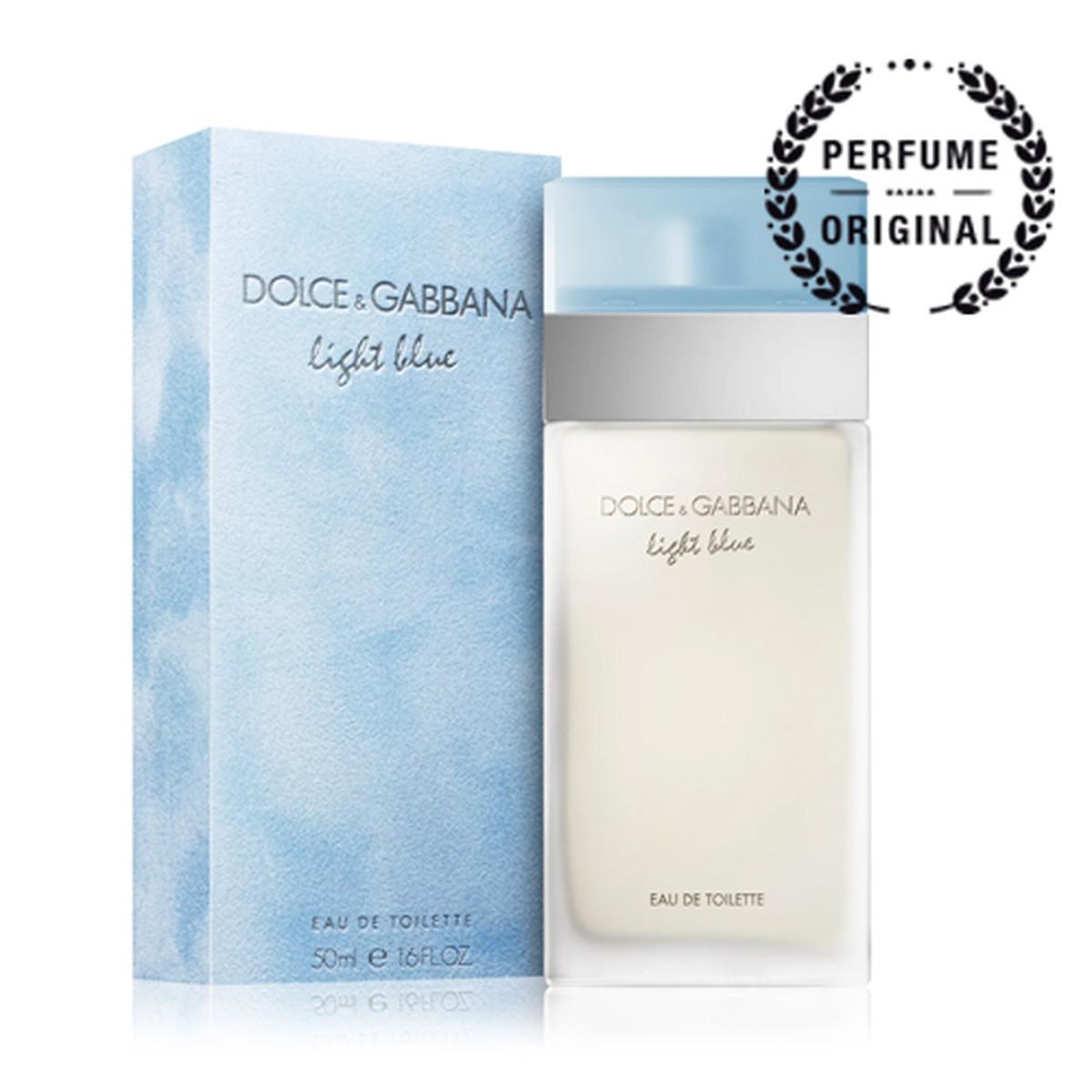 dolce gabbana light blue eau de toilette vaporizador 50ml. Black Bedroom Furniture Sets. Home Design Ideas