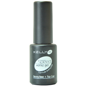 KELLY K SPEED GEL BASE/TOP COAT