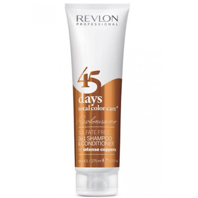 REVLON 45DAYS (SH & COND) INTENSE COPPERS