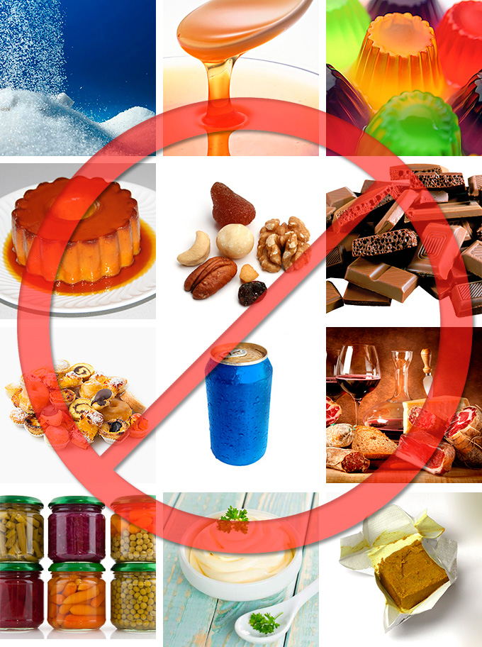 Alimentos-proibidos