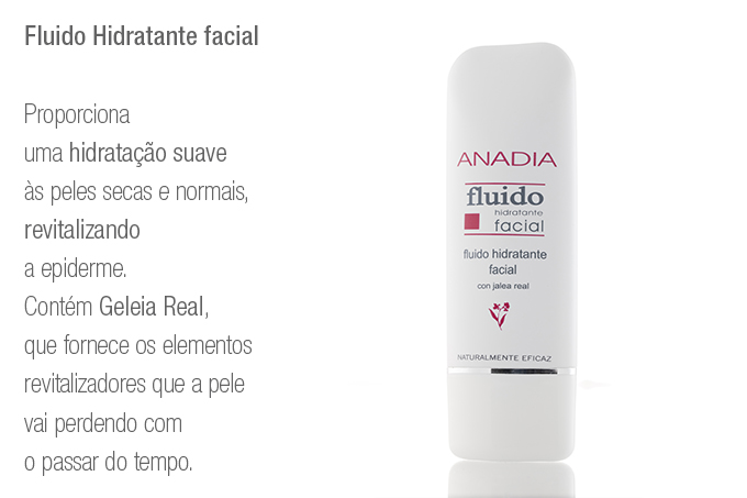 Fluido Hidratante facial